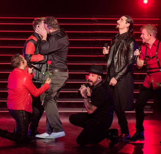 Joey Fatone, Backstreet Boys, Las Vegas