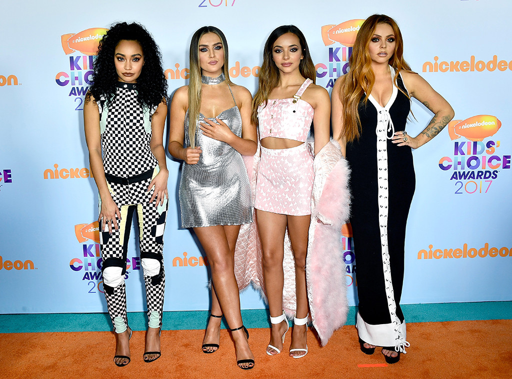 Little Mix, 2017 Kids Choice Awards, Arrivals