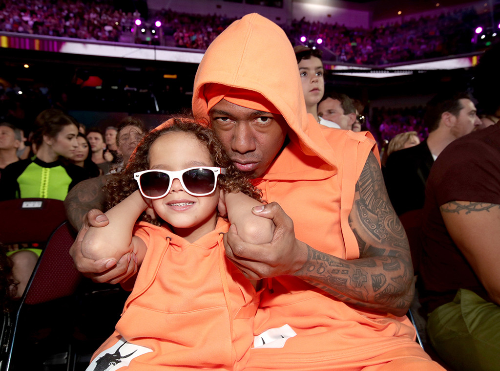 Nick Cannon, Monroe Cannon, 2017 Kids Choice Awards, Candids