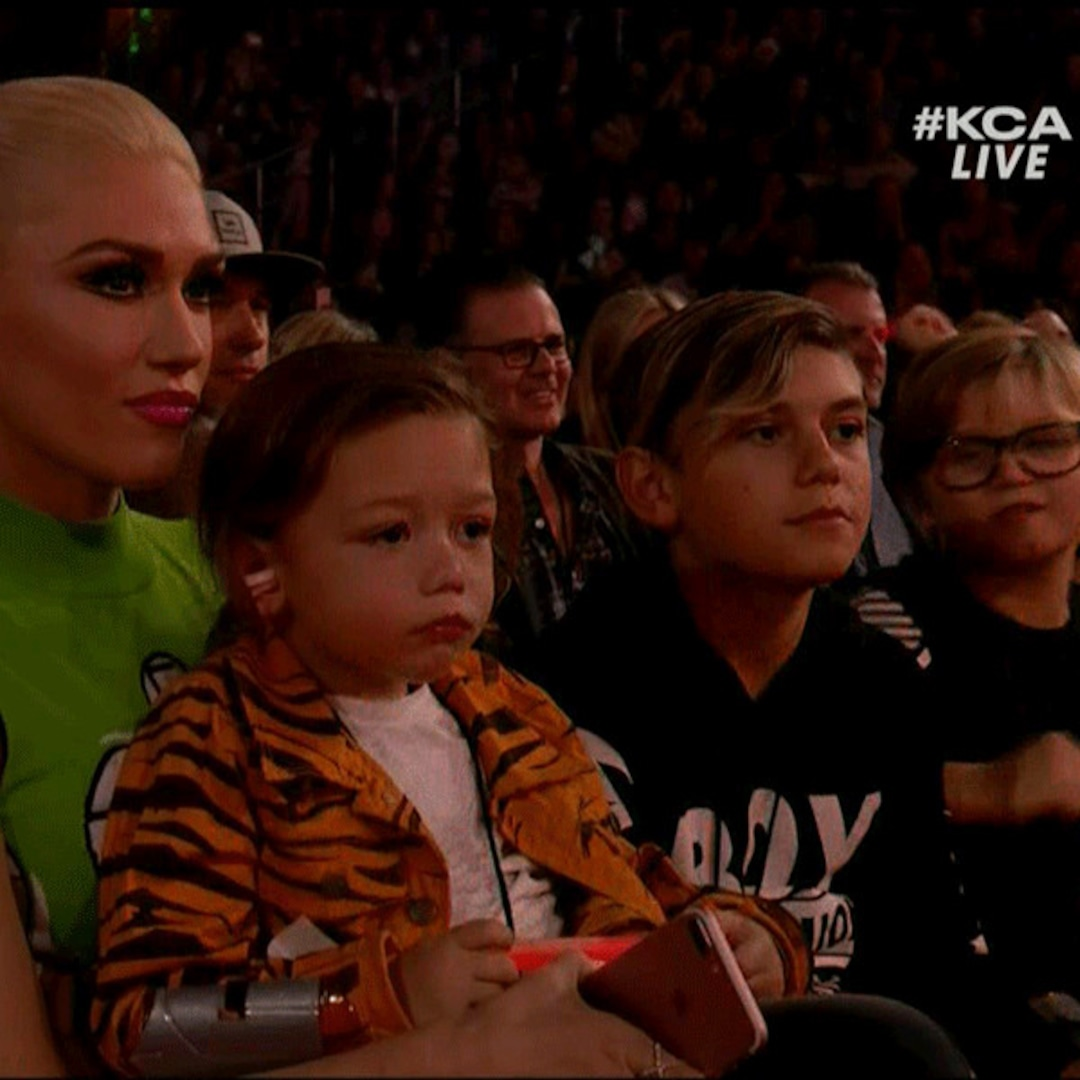Gwen Stefani and Her Kids Loved Little Mix's KCAs ...
