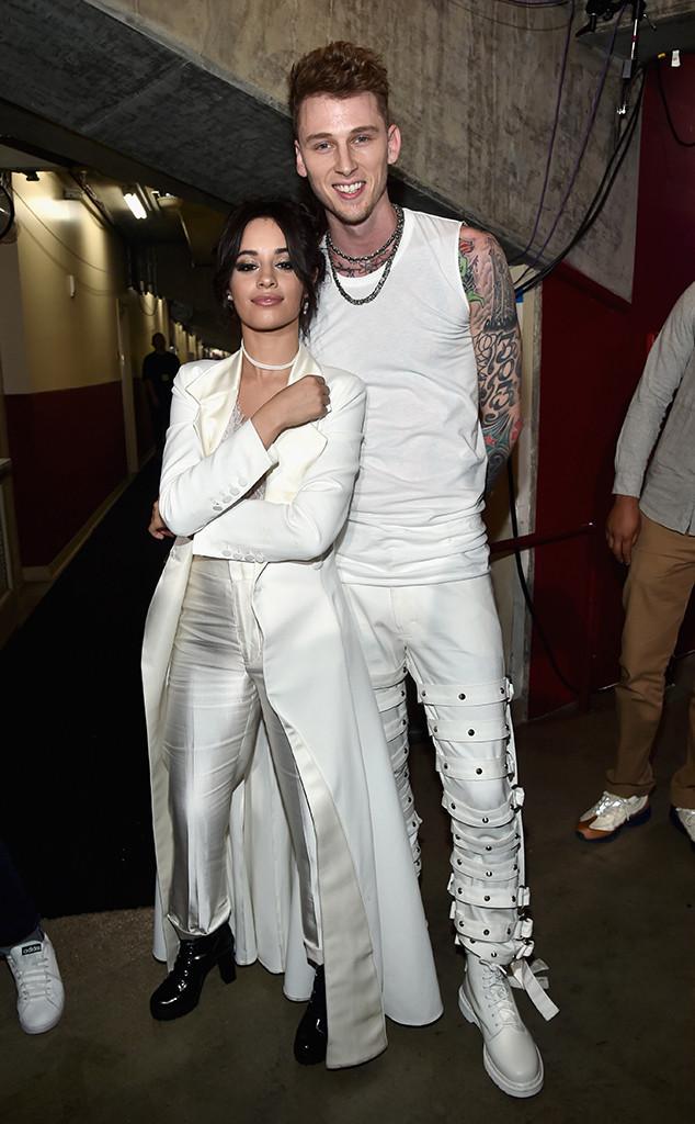 Camila Cabello, Machine Gun Kelly, 2017 Kids Choice Awards, Candids