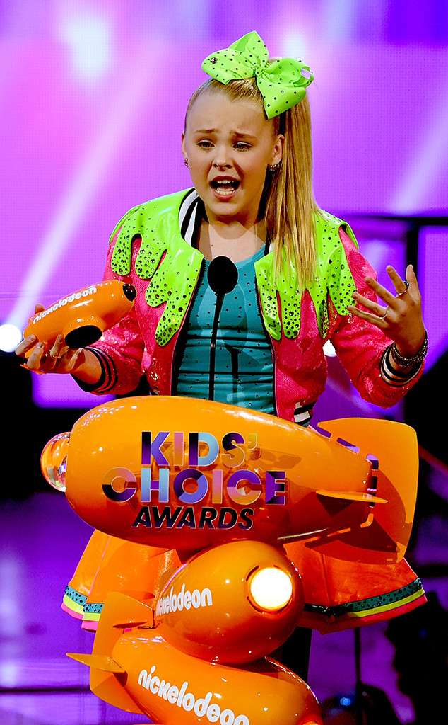 JoJo Siwa, 2017 Kids Choice Awards, Winners