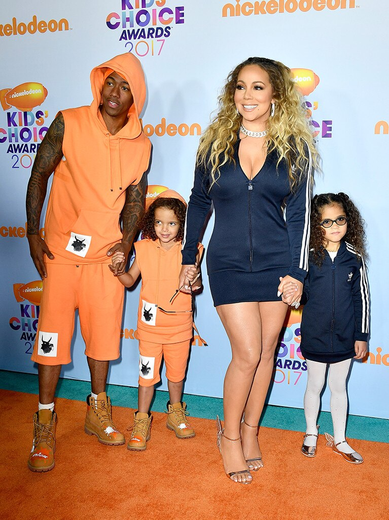 Nick, Moroccan, Monroe Cannon & Mariah Carey from Kids\' Choice ...