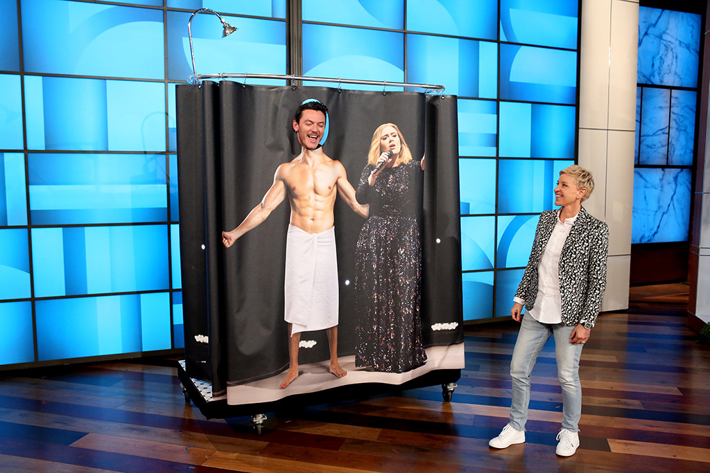 Luke Evans, The Ellen DeGeneres Show