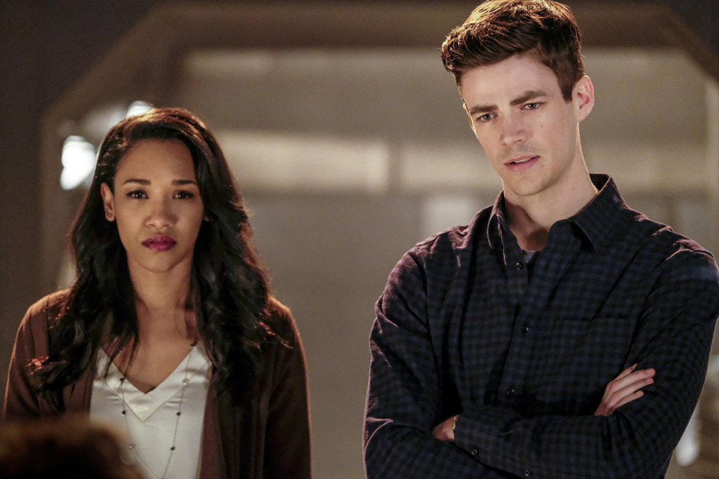 Grant Gustin, Candice Patton, The Flash