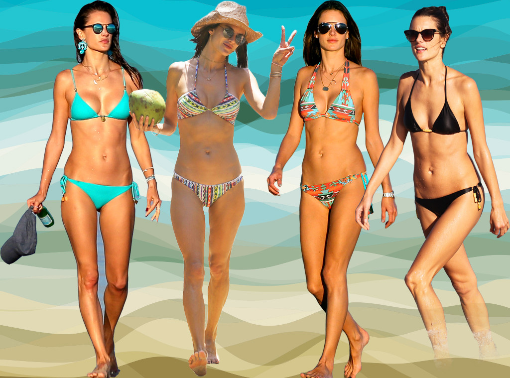 Hot Bodies Week, Bikini, Alessandra Ambrosio