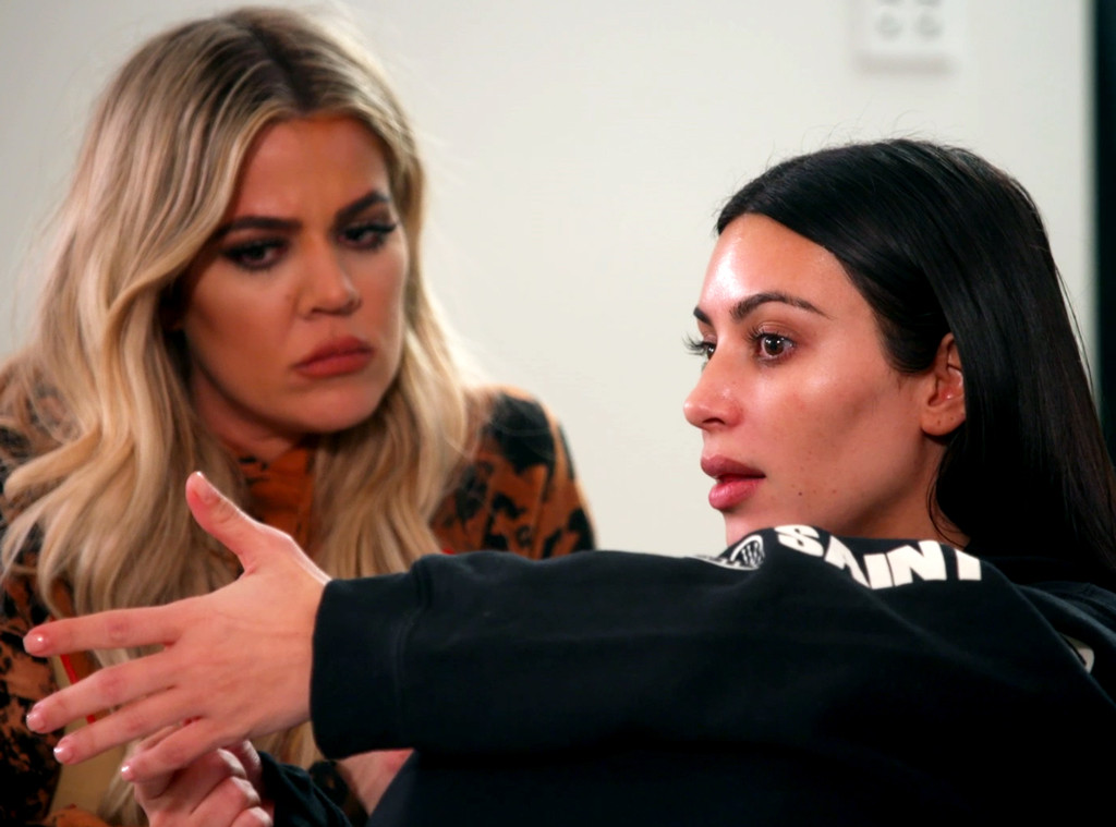 Khloe Kardashian, Kim Kardashian, KUWTK, KUWTK 1302
