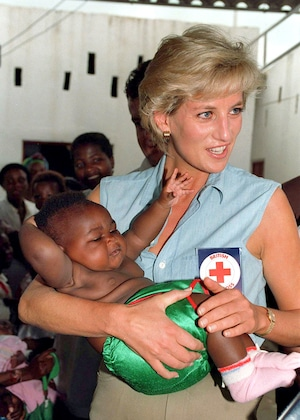 Princess Diana, Charity