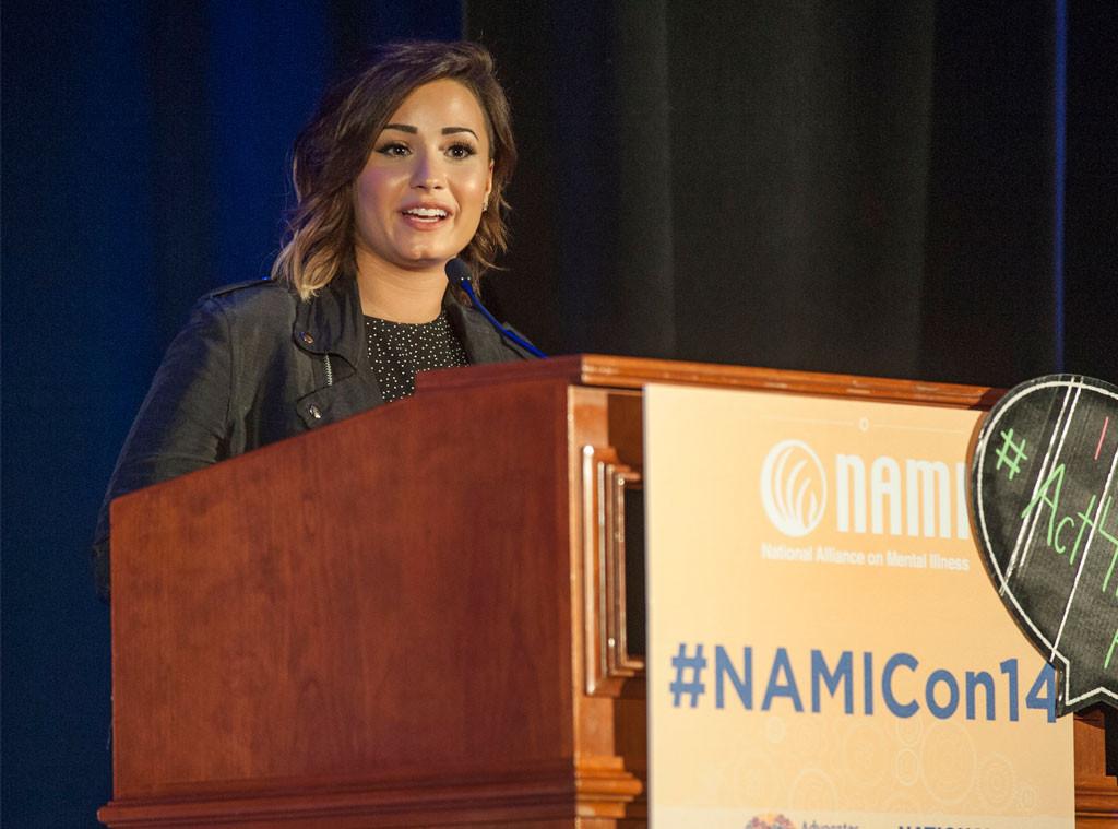 Demi Lovato, NAMI