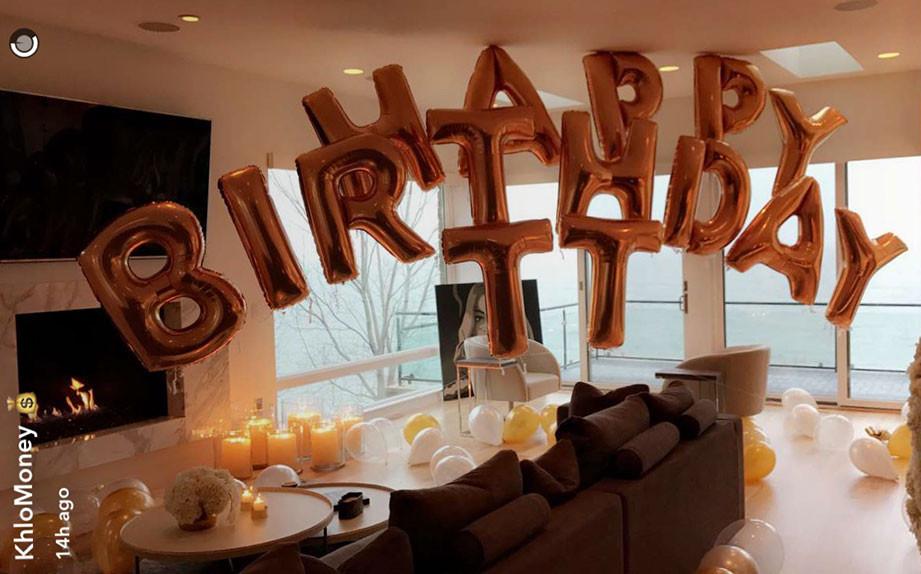Khloe Kardashian, Tristan Thompson, Birthday