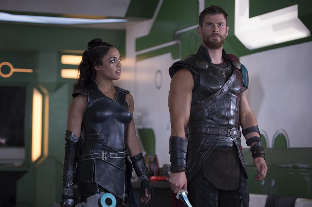 Thor: Ragnarok, Chris Hemsworth, Tessa Thompson