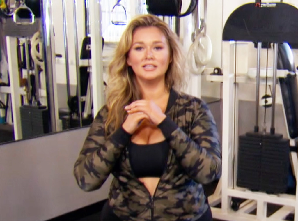 a10334145ad Everything You Need to Know to Work Out Like Sports Illustrated Swimsuit  Star Hunter McGrady