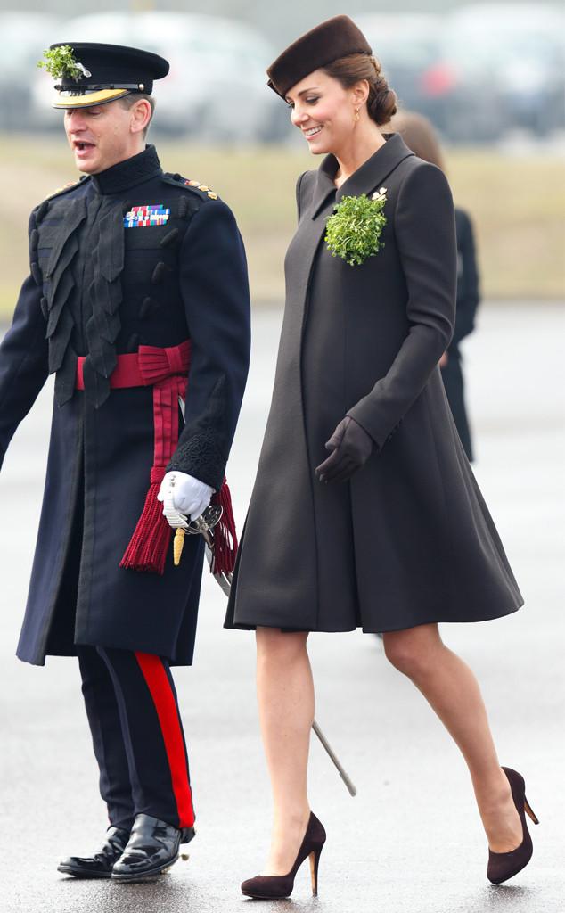 ESC: Kate Middleton, St. Patricks Day 2015