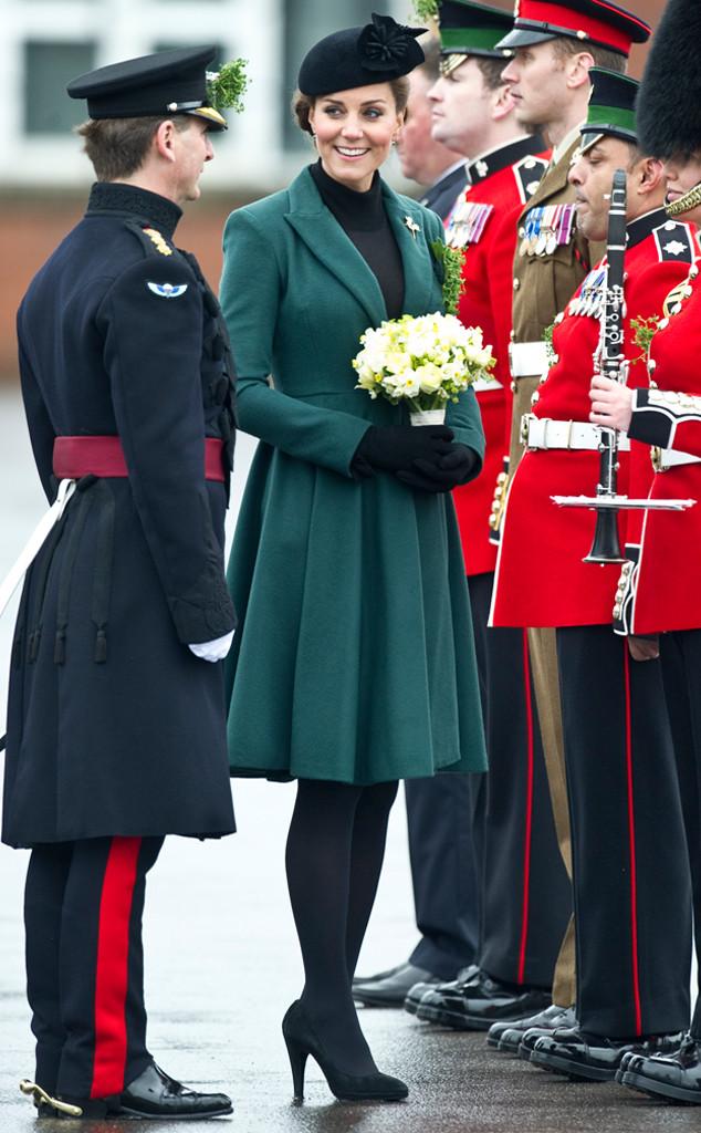 ESC: Kate Middleton, St. Patricks Day 2013