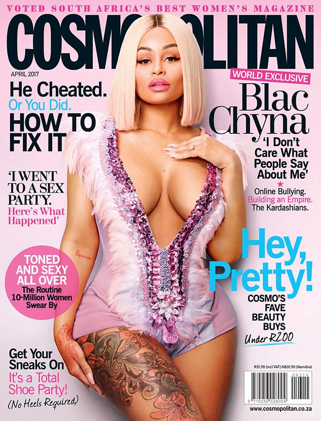 Blac Chyna, Cosmopolitan South Africa