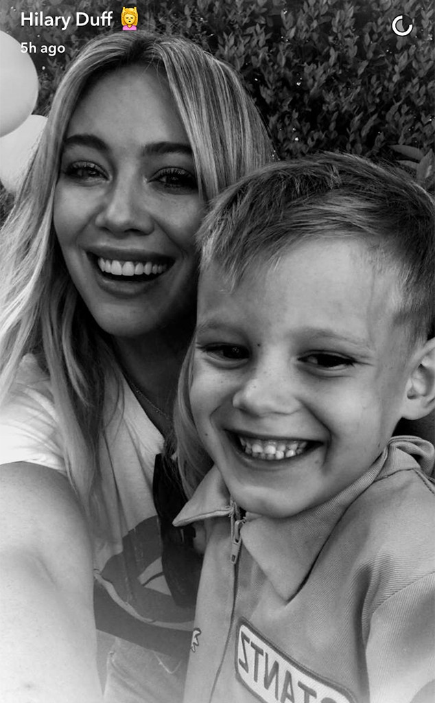 Hilary Duff, Snapchat