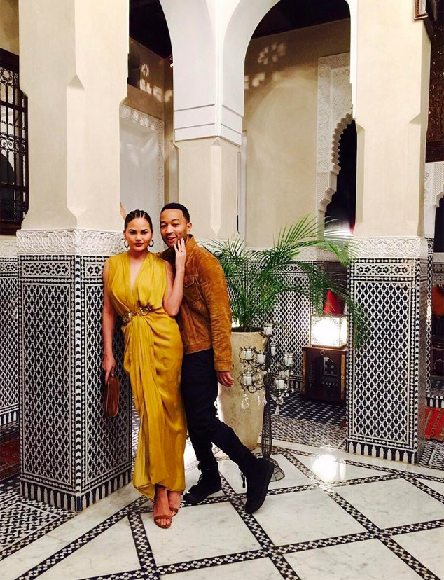Chrissy Teigen, John Legend, Morocco