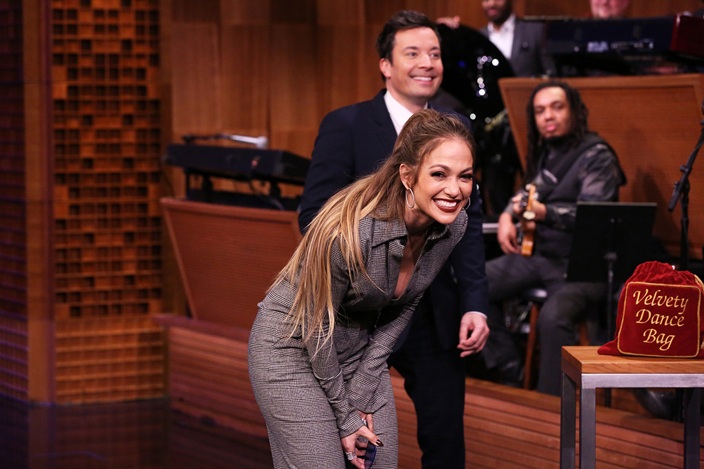 Jennifer Lopez, Jimmy Fallon, The Tonight Show