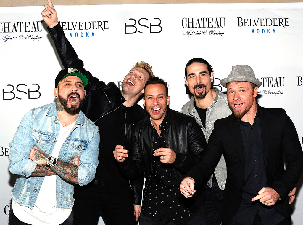Backstreet Boys, A.J. McLean, Nick Carter, Howie Dorough, Kevin Richardson, Brian Littrell
