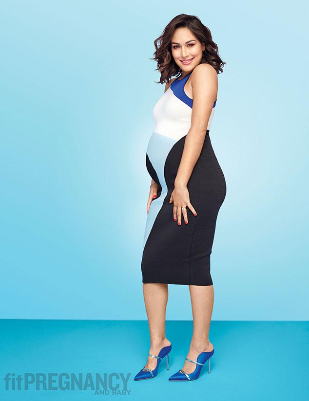 Brie Bella, Fit Pregnancy, April 2017