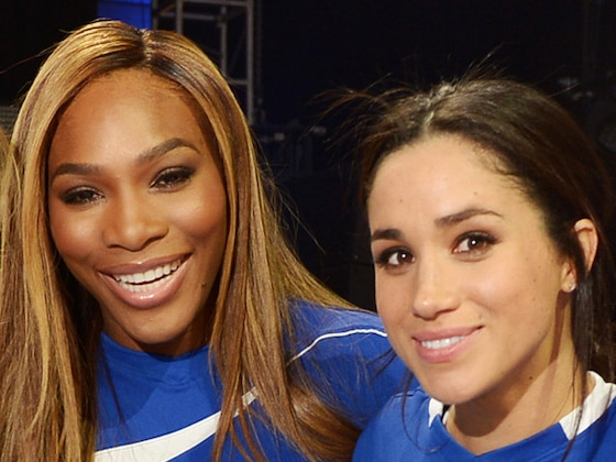 Serena Williams Has the Best Response When Asked About BFF Meghan Markle's Royal Exit
