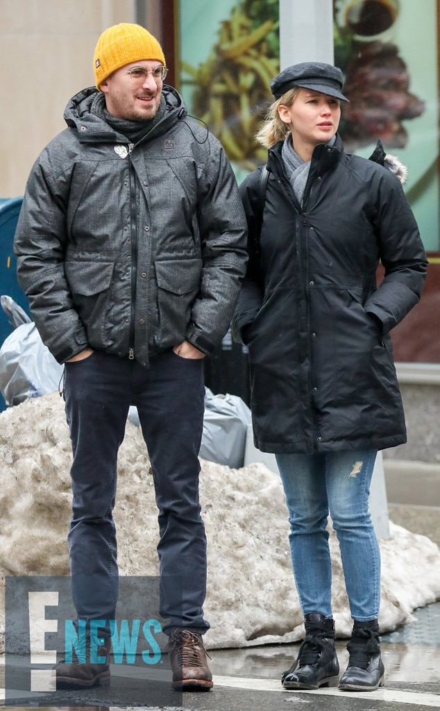 Jennifer Lawrence dating record
