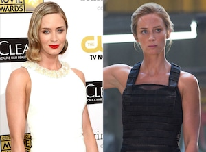 Emily Blunt, Edge of Tomorrow, Body Transformation