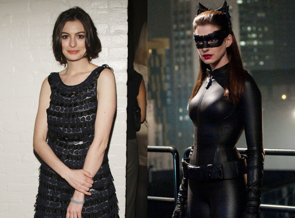 Anne Hathaway, The Dark Knight Rises, Catwoman, Body Transformation