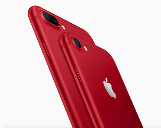 Apple, iPhone 7, Red