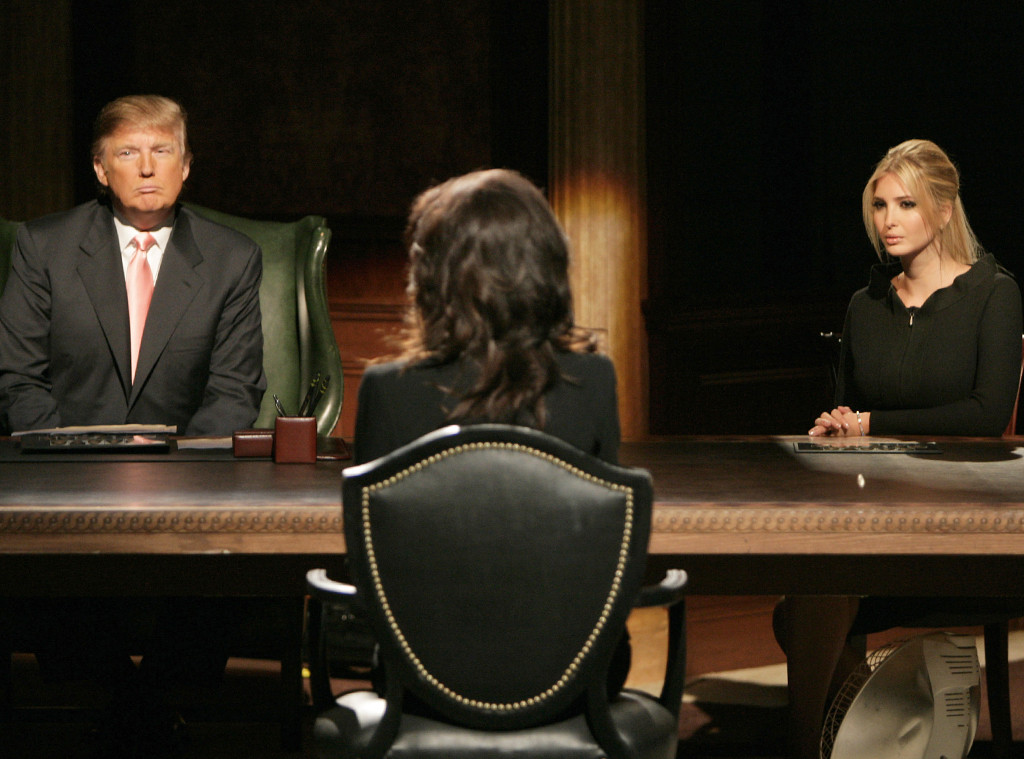 Donald Trump, Ivanka Trump, The Apprentice
