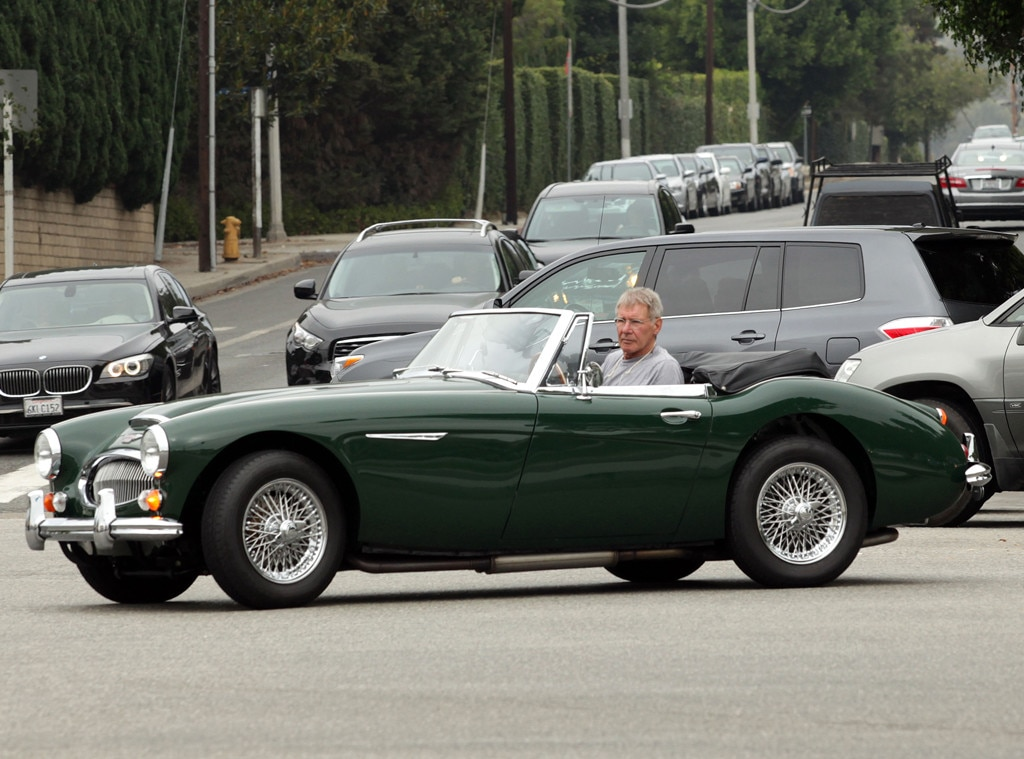 Harrison Ford from Stars in Vintage Cars | E! News UK