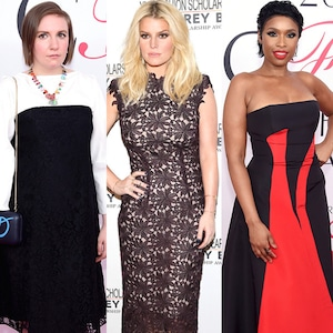 Lena Dunham, Jennifer Hudson, Ashley Graham, Jessica Simpson