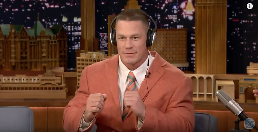 John Cena, Whisper Challenge