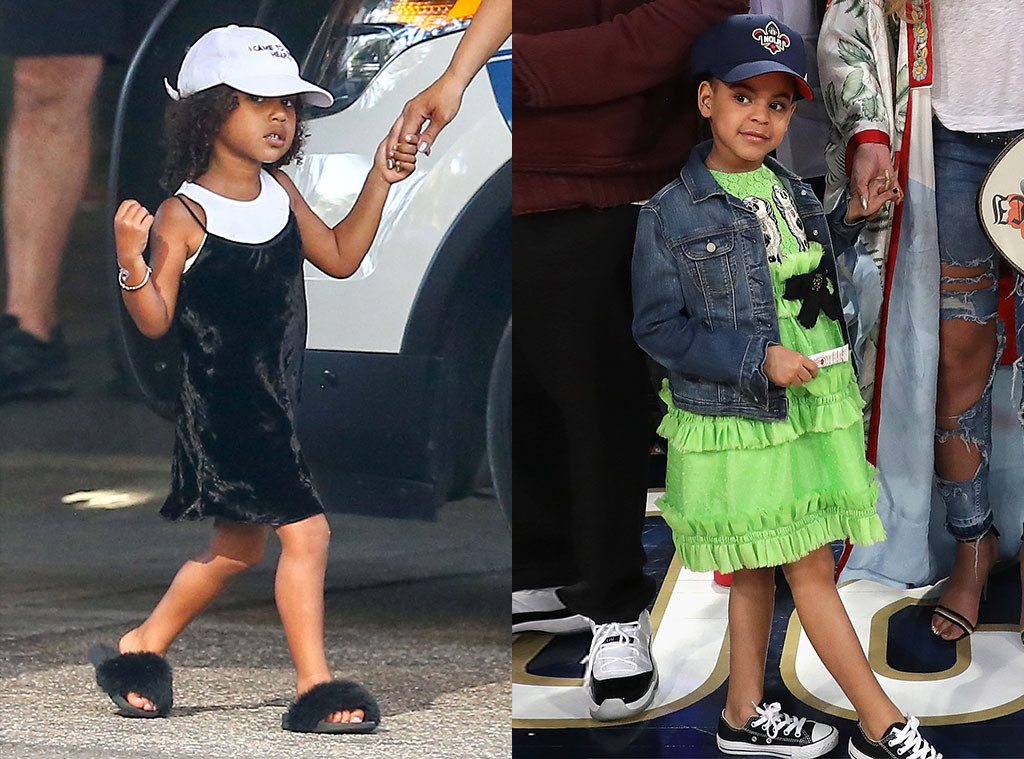 Celebrity Kids Week, North West, Blue Ivy, Most Fashionable Looks