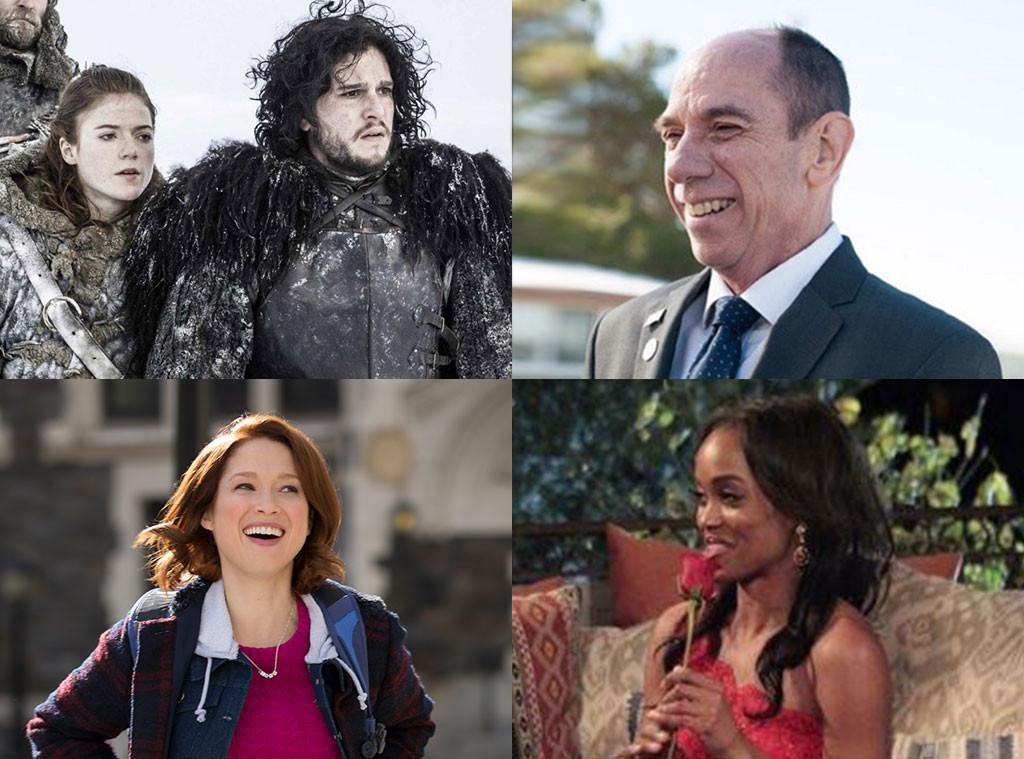 Game Of Thrones, Twin Peaks, Unbreakable Kimmy Schmidt, Rachel Lindsay, Spring Summer TV