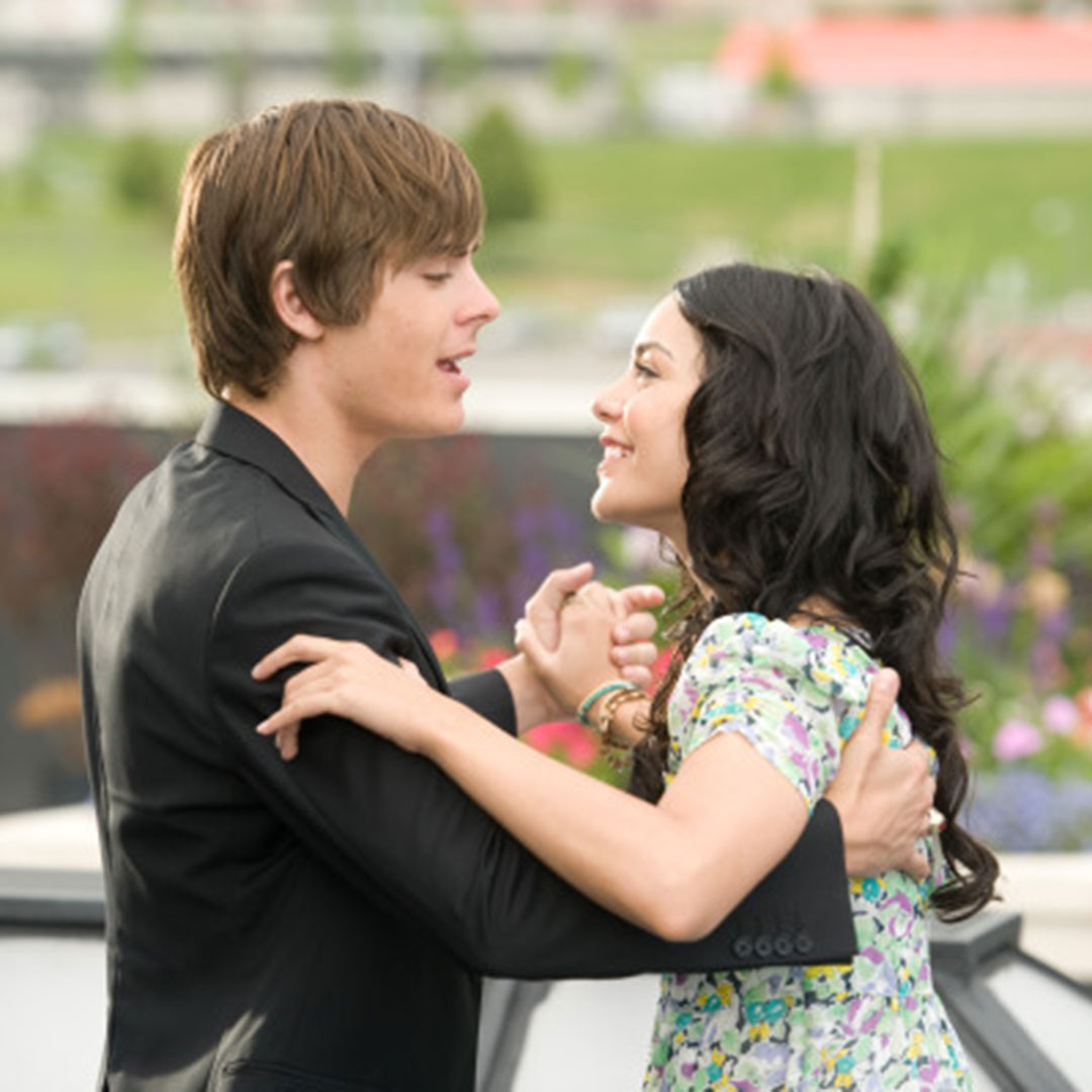Zac Efron, Vanessa Hudgens, High School Musical