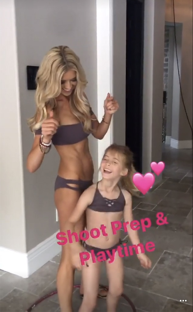 Christina El Moussa, Daughter, Taylor Reese