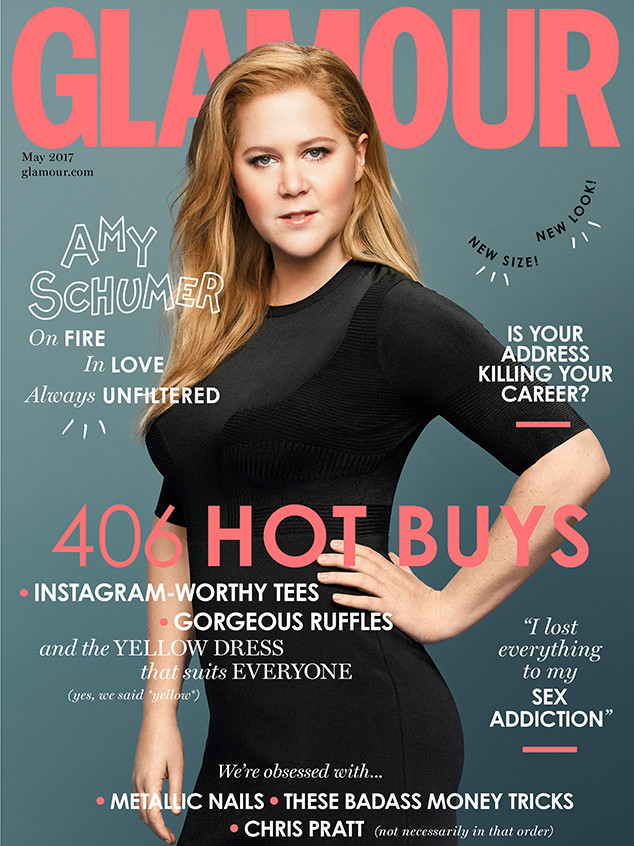 Amy Schumer, British Glamour
