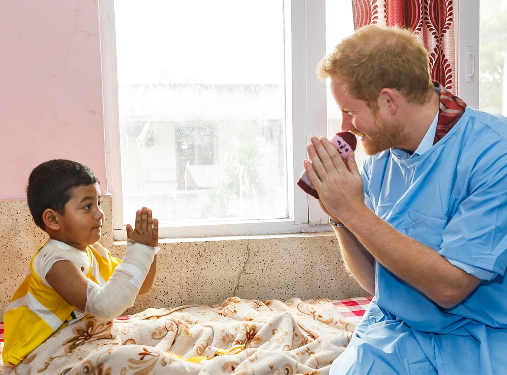 Prince Harry, Children's Hospital