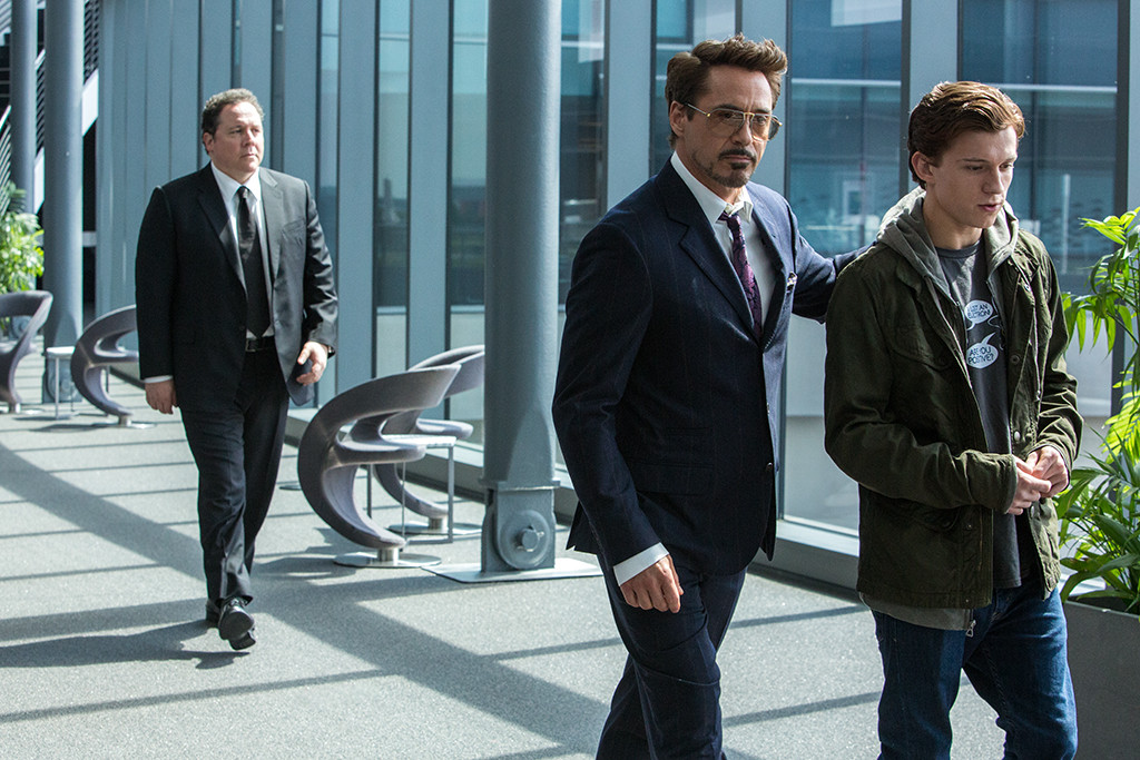 Spider-Man Homecoming, Jon Favreau, Robert Downey Jr., Tom Holland