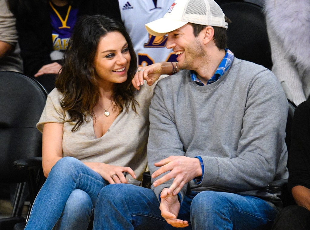 When did ashton kutcher start dating mila kunis