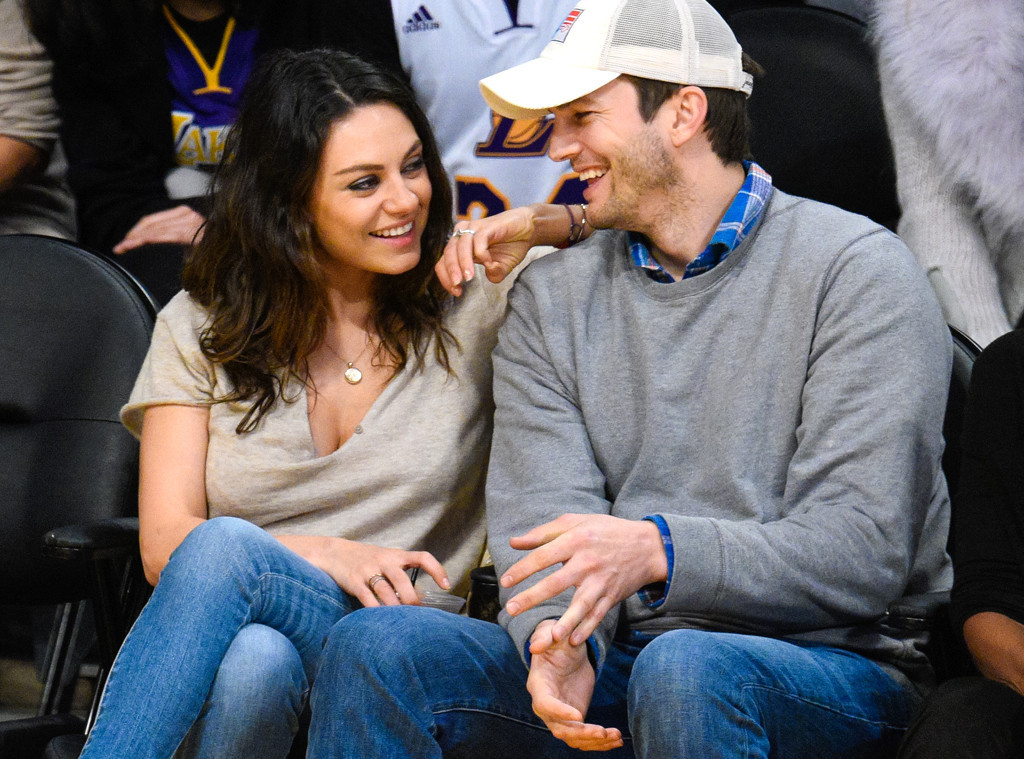 kunis and kutcher dating after divorce