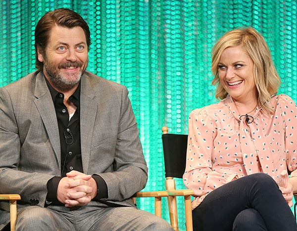 nick offerman amy poehler 39 s craft pun off is only the latest funny moment from this duo that. Black Bedroom Furniture Sets. Home Design Ideas