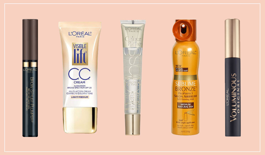 Loreal Beauty Collage