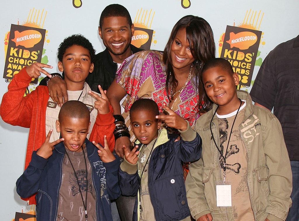 usher s private world revealed why the singer keeps his family life