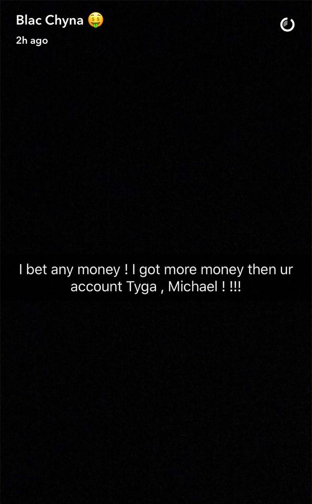Blac Chyna, Tyga, Rant, Snapchat