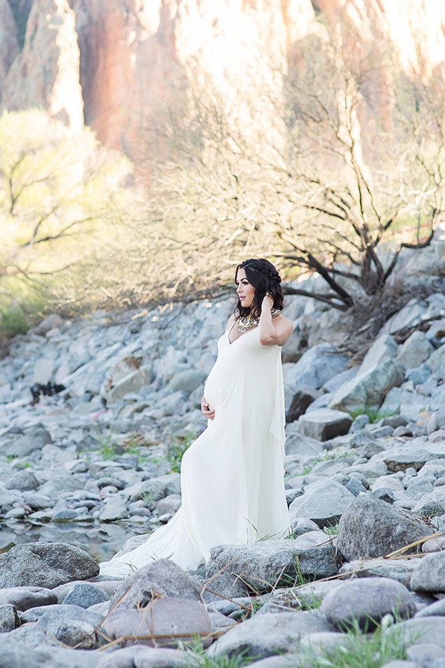 Brie Bella, Maternity Photo Shoot, Pregnancy
