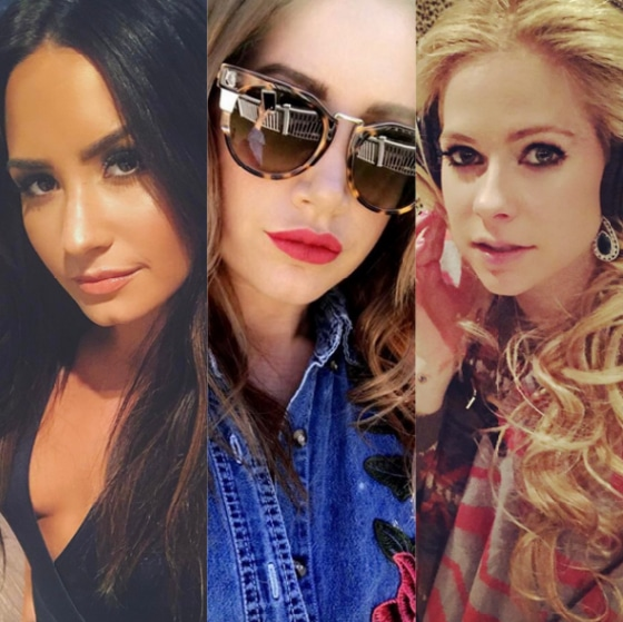 Demi Lovato, Ashley Tisdale, Avril Lavigne