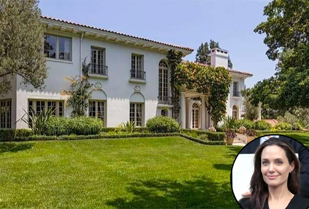 Angelina Jolie -  The actress offered $25 million to buy late director  Cecil B. DeMille 's massive estate in Los Feliz, Calif. six months after divorcing  Brad Pitt .