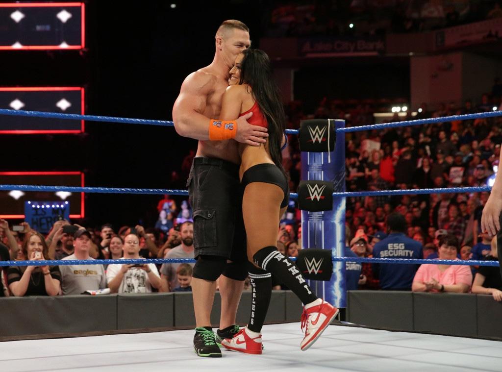 John Cena, Nikki Bella, WWE